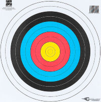 Мишень Avalon Faces World Archery For Target Archery 40 Standard Centre 10-Rings