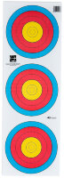 Мишень Avalon Faces World Archery For Target Archery 40 3-Spot Standard Centre Vertical 5-Rings
